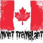 Mont-Tremblant Grunge Flag