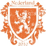 Netherlands - Crest - Orange