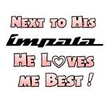 Impala loves me best