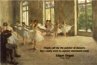 Edgar Degas: Painter of Dancers & Movement