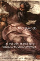 Italian Renaissance Michelangelo Divine Perfection