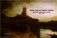 Rembrandt Painting 'The Mill' & Nature Quote