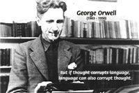 Orwell: Totalitarian Mechanism of Thought Control