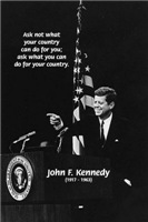 John F. Kennedy 'Ask not what your country can do