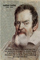Error of Conformity: Galileo Science Discovery