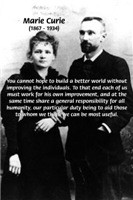 Individual Improvement: Humanity Marie Curie