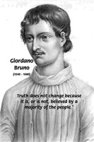 Philosophy Bruno: Truth Freedom of Thought