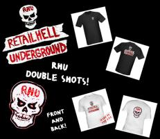 RHU DOUBLE SHOTS - FRONT AND BACK!