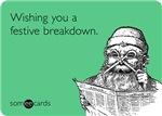 Festive Breakdown