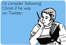 Christ Twitter