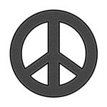 Bold Peace Sign