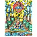 Chess Art Drawing #P0110
