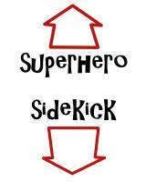 Maternity Superhero/Sidekick