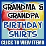 Grandma And Grandpa Milestone Birthdays