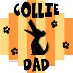 Collie Dad - Yellow/Orange Stripe