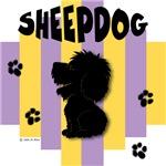 Sheepdog Yellow/Purple Stripe