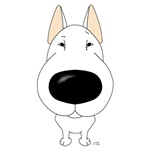Bull Terrier - Big Nose and Butt