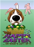 Beagle - Happy Easter