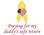 Praying for my daddy's safe return items