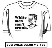 White men can't crunk