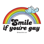 Smile, if you're gay