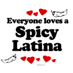 Everyone loves a spicy latina