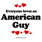 Everyone loves an American guy