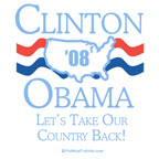 Clinton / Obama: Let's take back our country