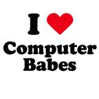 I love computer babes