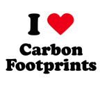 I love carbon footprints