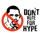 Don't vote for hype / Anti-Obama