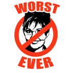 ANTI-PALIN: WORST EVER