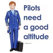 Pilots need a good altitude