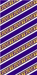 Rugby Stripes purple gold