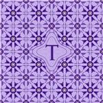 Quilted Violet monogram
