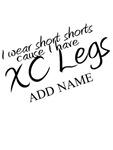 XC Short Shorts Add Name