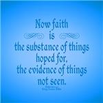 Hebrew 11:1 Faith is