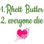 Rhett Butler is Number One