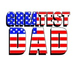 Patriotic Greatest Dad