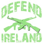Defend Ireland! Crossed Rifles