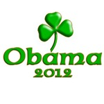 Obama 2012 Because He's Irish!