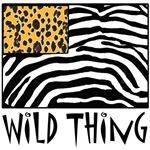Wild Thing Cheetah and Zebra Print Design