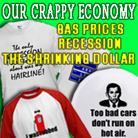 Recession, High Gas Prices on Tees and Gifts