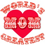 World's Greatest Mom Apparel and Gifts