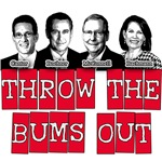 Throw The Bums Out Anti-Republican