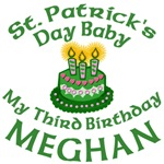Personalized St Patricks Day Birthday MEGHAN