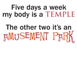 body is an amusement park