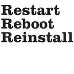restart reboot reinstall