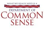 Department of Common Sense