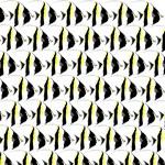 Moorish Idol Fish Pattern